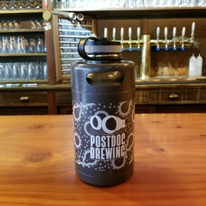 HAMMERED GREY  Stainless Steel Growler - 64oz